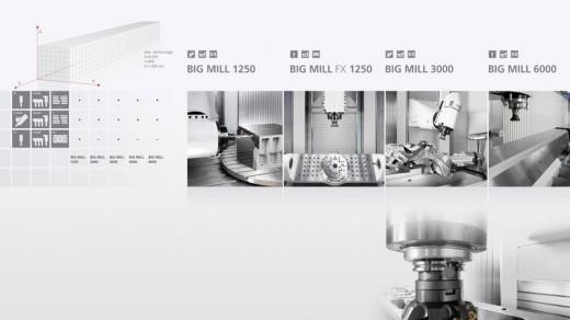 Aplicatii masini unelte cnc piese mari CHIRON BIG MILL