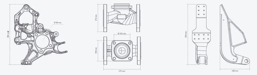 Prelucrarea cu CNC-uri a pieselor mari si grele