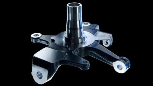 Achsschenkel | CHIRON FZ 18 L = 355 mm B = 270 mm H = 180 mm